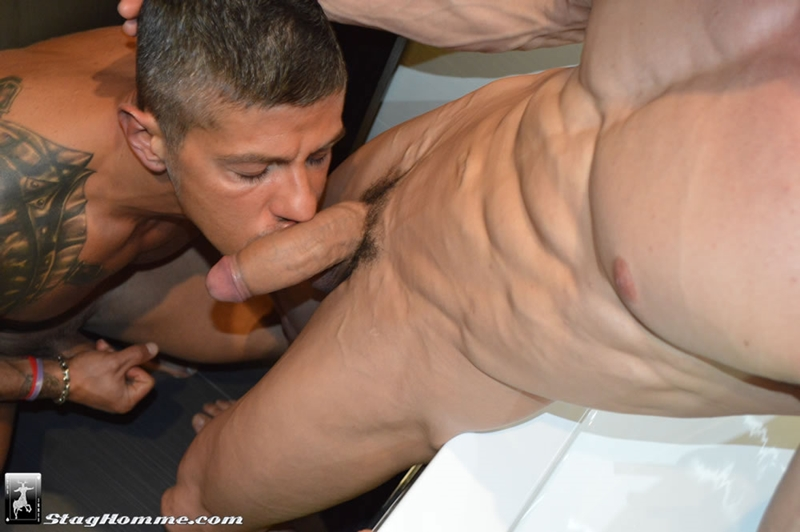 stag homme  StagHomme Gabriel Vanderloo hairy Goran huge boner muscle big dick sucking manhole rimming ass fucking explode orgasm 001 tube download torrent gallery photo Gabriel Vanderloo and Goran
