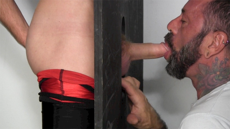 Women sucking man gloryhole stories