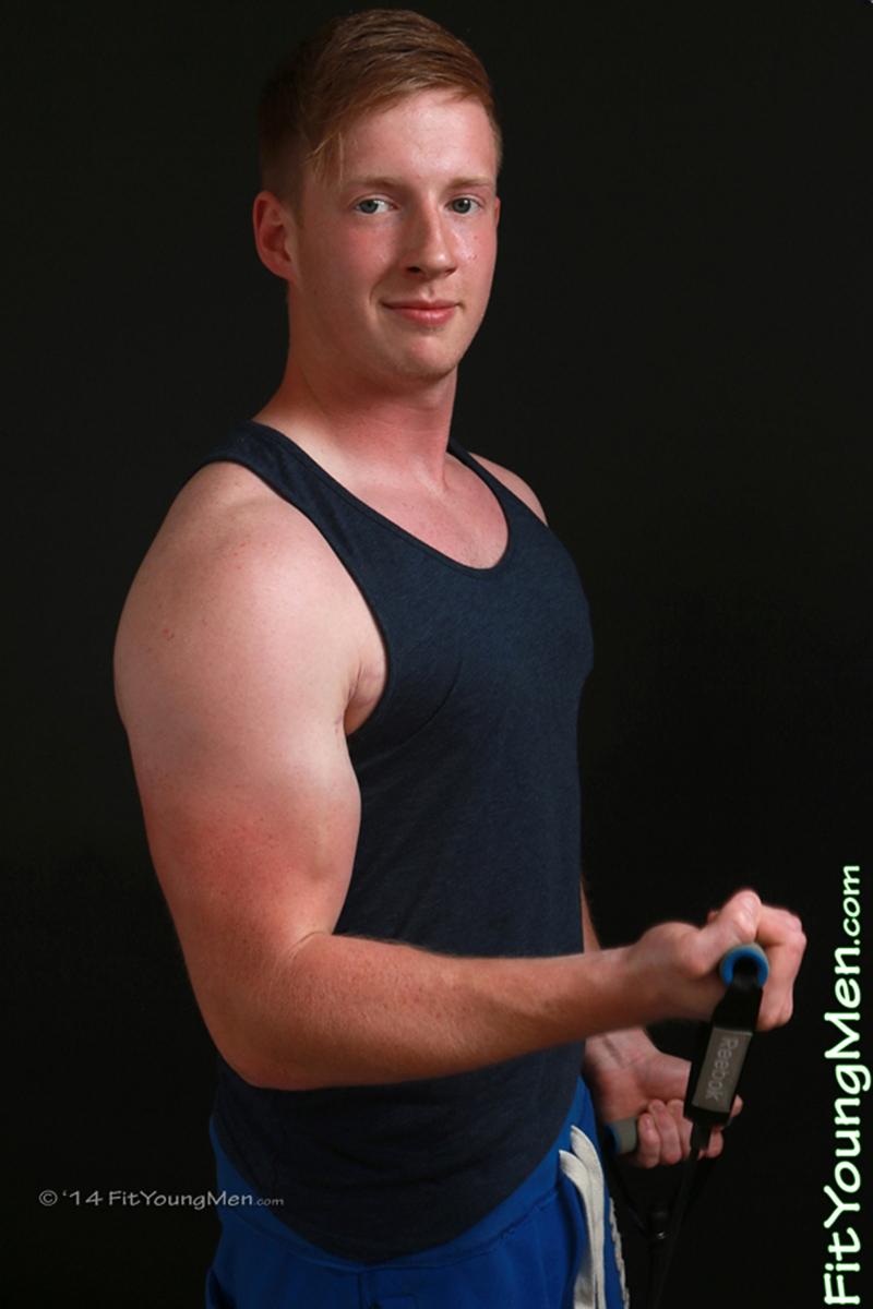 Alex Salisbury stripped to his sexy underwear