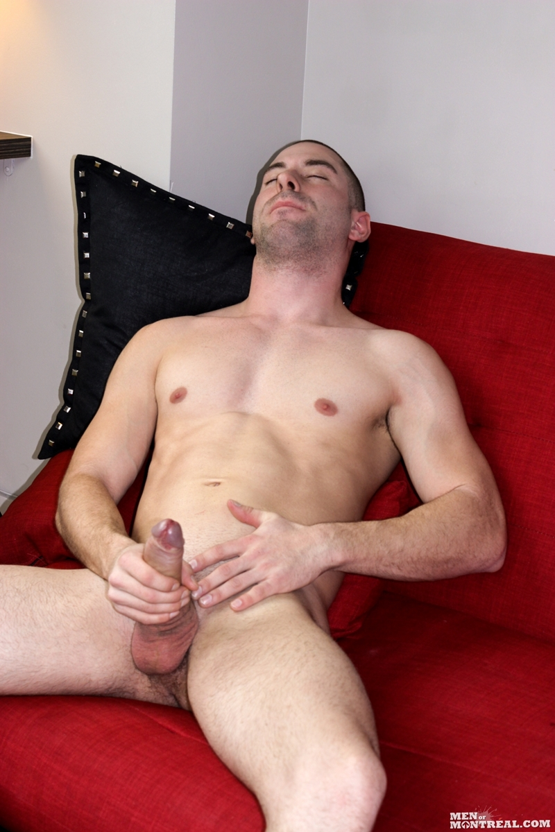 Hot Dad Busts A Hot Nut Watching Gay Porn
