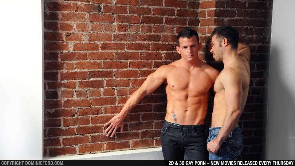Boyfriends: Cavin Knight and Tristan Jaxx at Dominic Ford