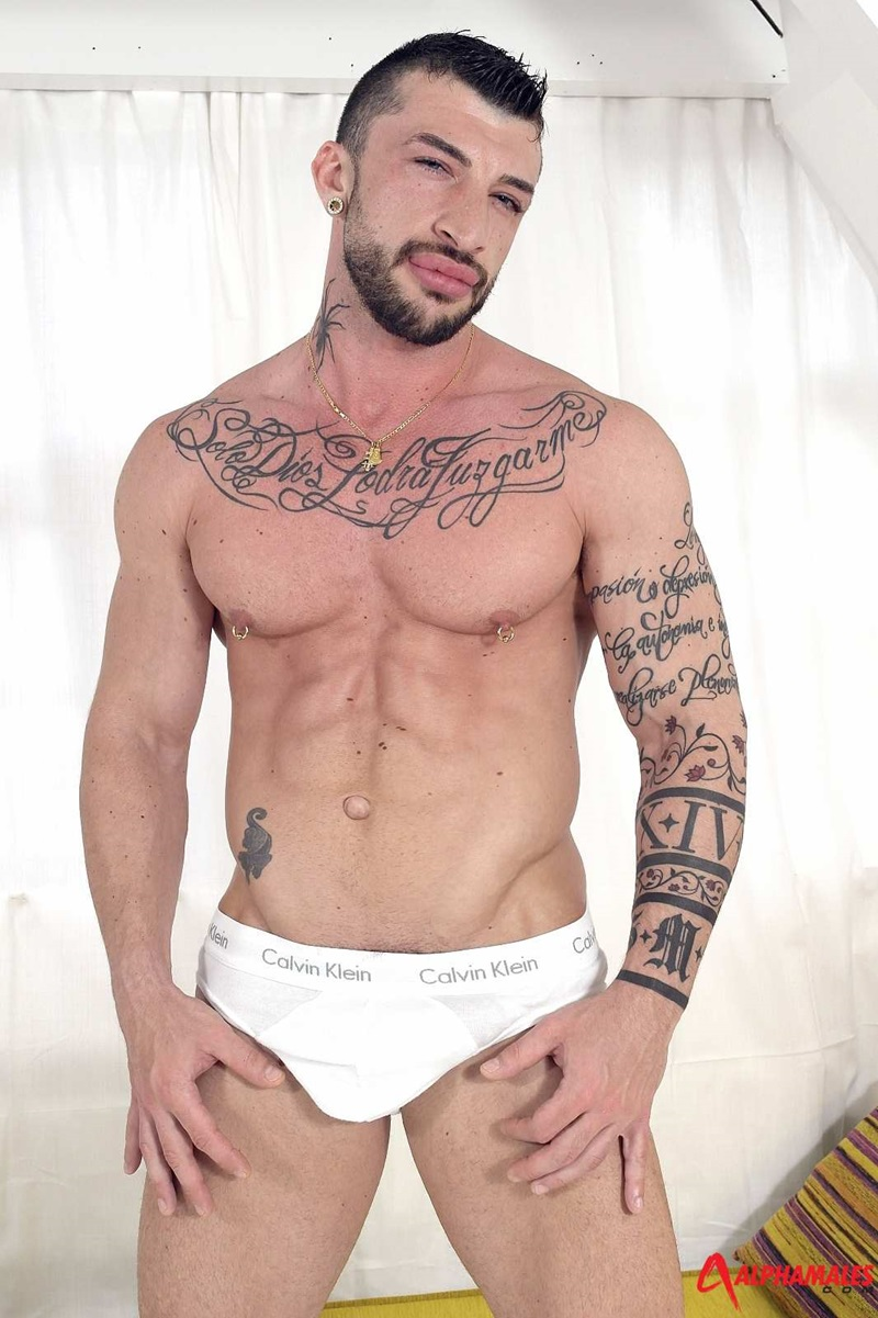 Alphamales-sexy-Spanish-guy-big-uncut-dick-foreskin-Sergio-Moreno-moan-stunning-guy-rough-men-fucking-solo-wank-tattooed-big-arms-03-gay-porn-star-sex-video-gallery-photo