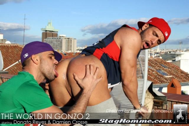 Damien Crosse and Donato Reyes