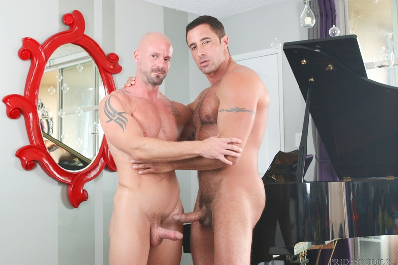 Mitch Vaughn and Nick Capra eating ass and getting hot sweaty and juicy all over it as they fuck and suck