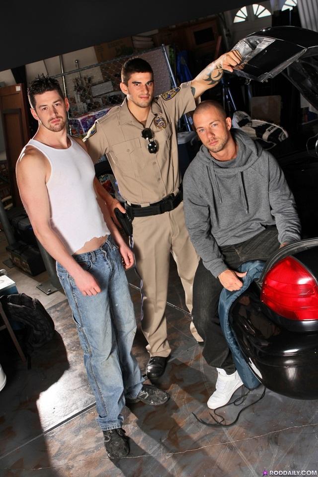 Hot threesome Andrew Stark, Rod Daily and Tyler Torro