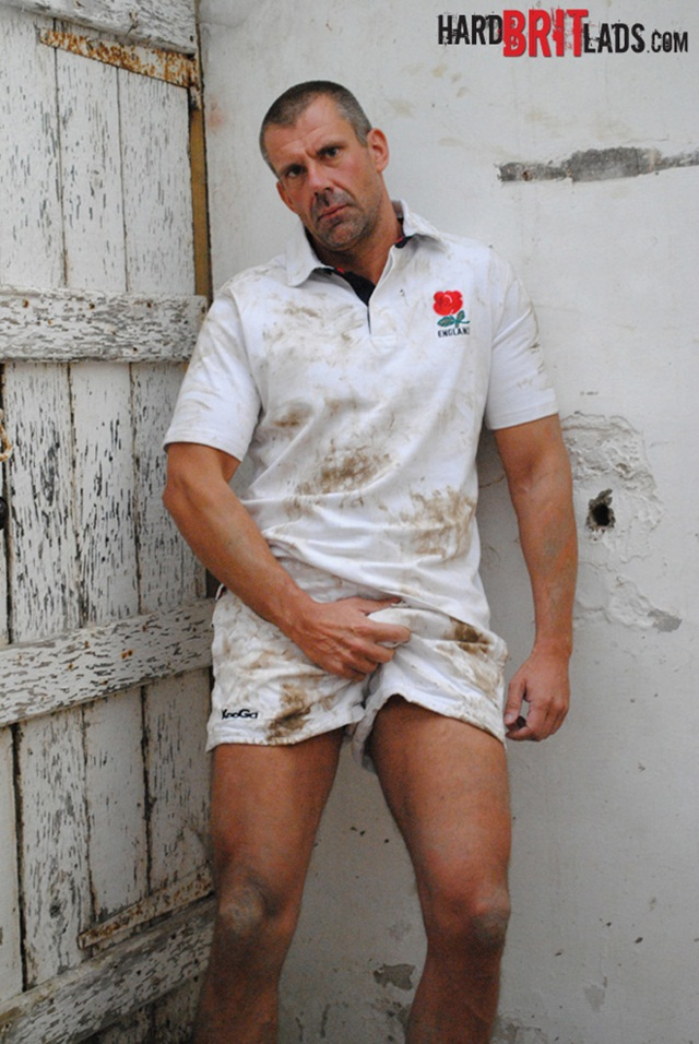 Hard Brit Lads: Big beefy rugby dad Jack Saxon