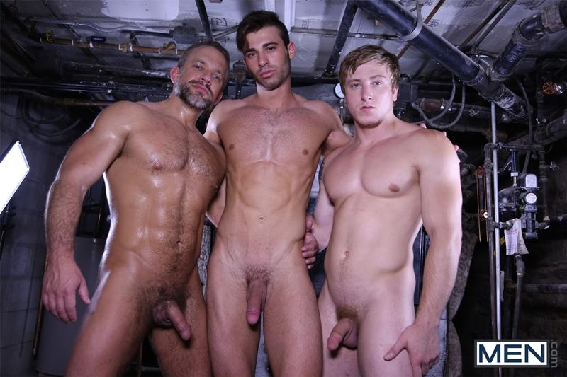 Dirk Caber, Jarec Wentworth and Tom Faulk