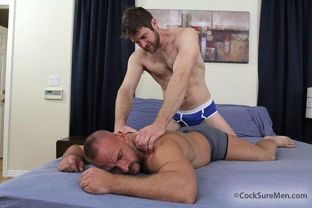 CockSure Men: Samuel Colt gets an ass licking then butt fuck from Colby Keller!