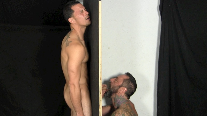 Forced straight suck man cock to