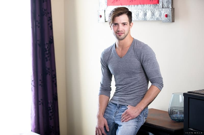 Men for Men Blog IconMale-older-guy-Max-Sargent-younger-Casey-Everett-sexy-bubble-butt-asshole-ass-rimming-cocksucker-016-gay-porn-pictures-gallery Young sexy stud Casey Everett's tight bubble butt fucked hard by older gent Max Sargent big daddy cock Icon Male