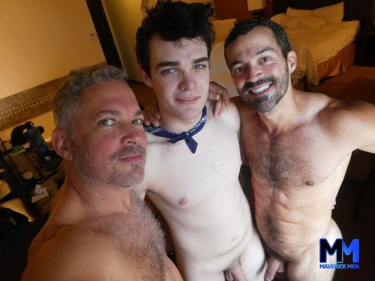19 year-old horse-hung dick bubble butt boy Ivan rough fucked at Maverick Men