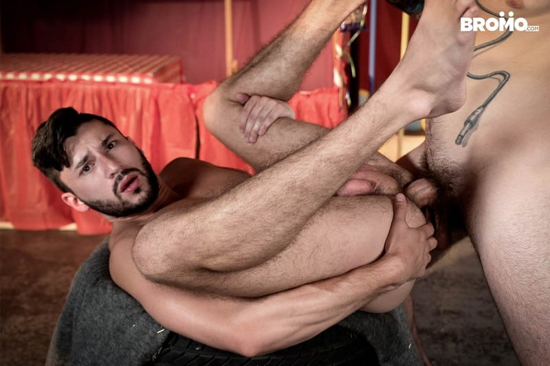 Men for Men Blog Buck-Richards-Scott-DeMarco-thick-long-cock-mouth-throat-anal-fucks-Bromo-018-gay-porn-pictures-gallery Buck Richards dick slaps Scott DeMarco in the face before stuffing his thick long cock in his mouth and throat fucks him Bromo