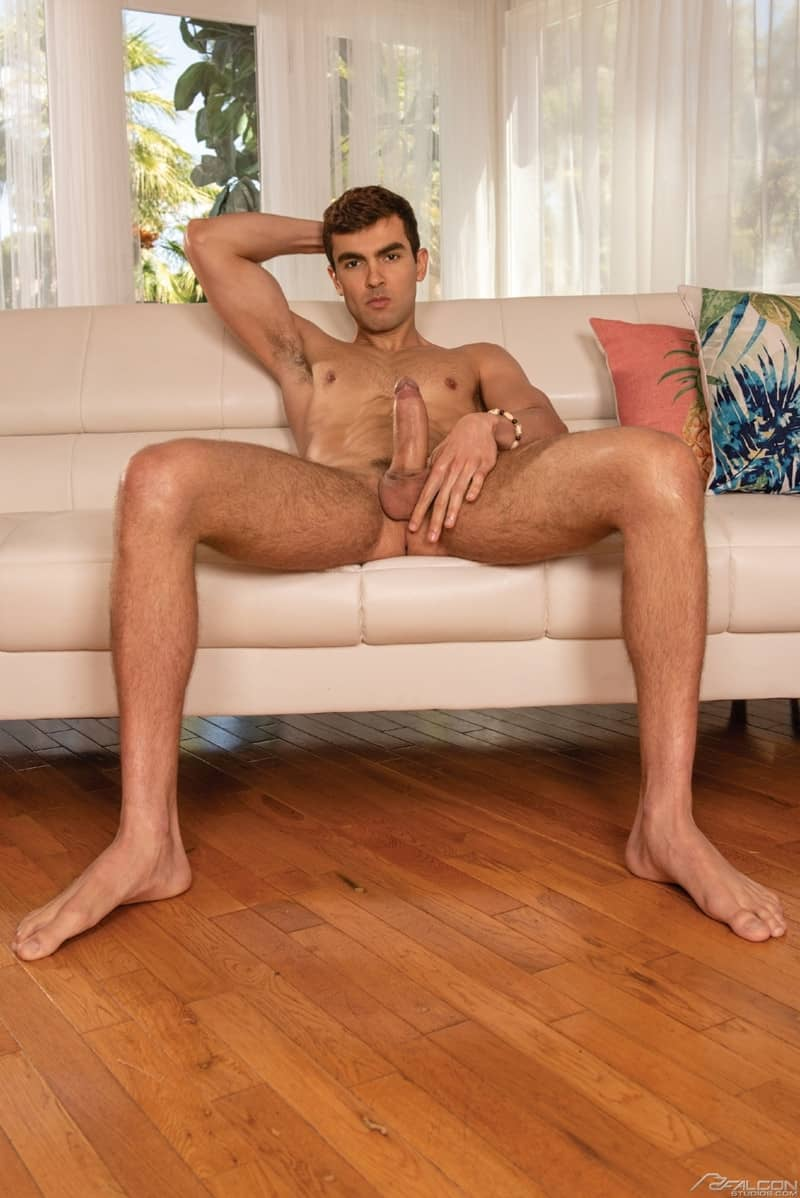 Men for Men Blog Alam-Wernik-Alexander-Muller-Brazilian-gay-porn-stars-huge-erect-thick-boy-cock-FalconStudios-006-gay-porn-pictures-gallery Alexander Muller fucks Alam Wernik's prostate doggy style until he blasts out a load of hot Brazilian cum Falcon Studios