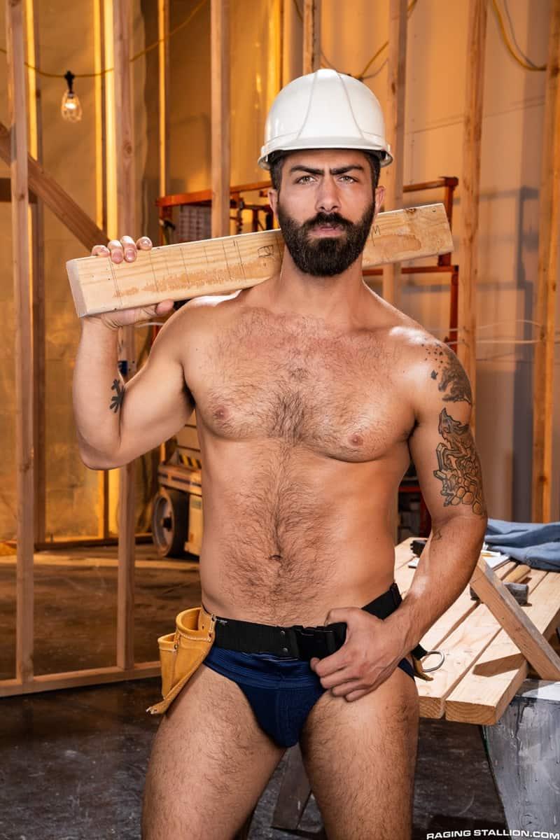 Men for Men Blog Gay-Porn-Pics-002-Adam-Ramzi-Sharok-Hairy-muscle-hunk-anal-fuck-huge-raw-cock-deep-ass-crack-RagingStallion Hairy muscle hunk Adam Ramzi slides his huge raw cock deep into Sharok's ass crack Raging Stallion
