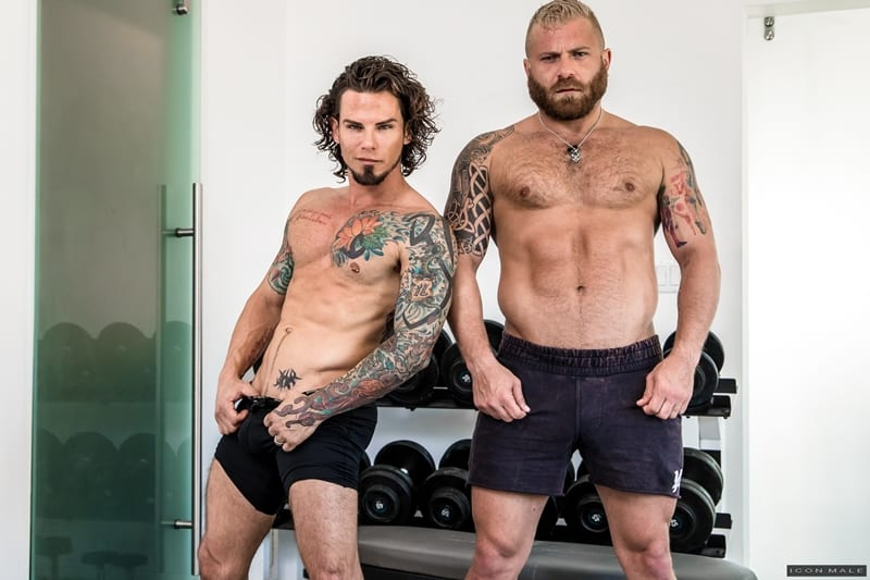 IconMale-Tattooed-young-stud-Archer-Croft-hot-ass-fucked-hard-older-muscle-guy-Riley-Mitchell-huge-cock-001-Gay-Porn-Pics