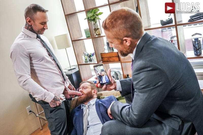 Riley-Mitchel-services-his-bosses-Dylan-James-and-Dirk-Caber-LucasEntertainment-010-Gay-Porn-Pics