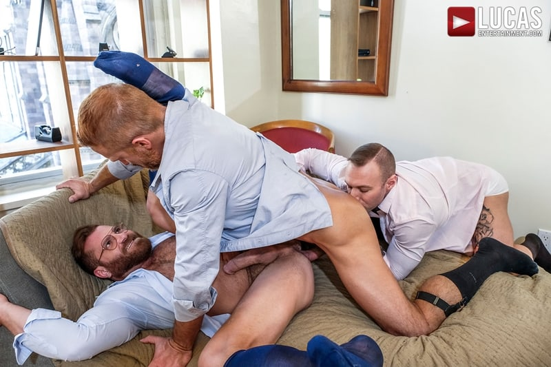 Riley-Mitchel-services-his-bosses-Dylan-James-and-Dirk-Caber-LucasEntertainment-012-Gay-Porn-Pics