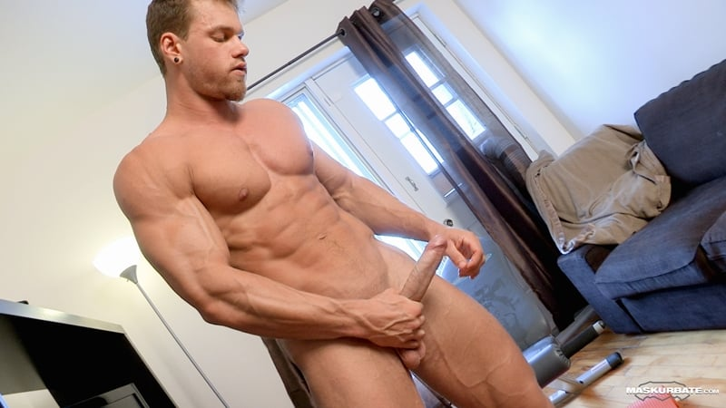 Big-muscle-man-Maskurbate-Brad-strips-naked-jerking-huge-uncut-dick-cum-012-Gay-Porn-Pics
