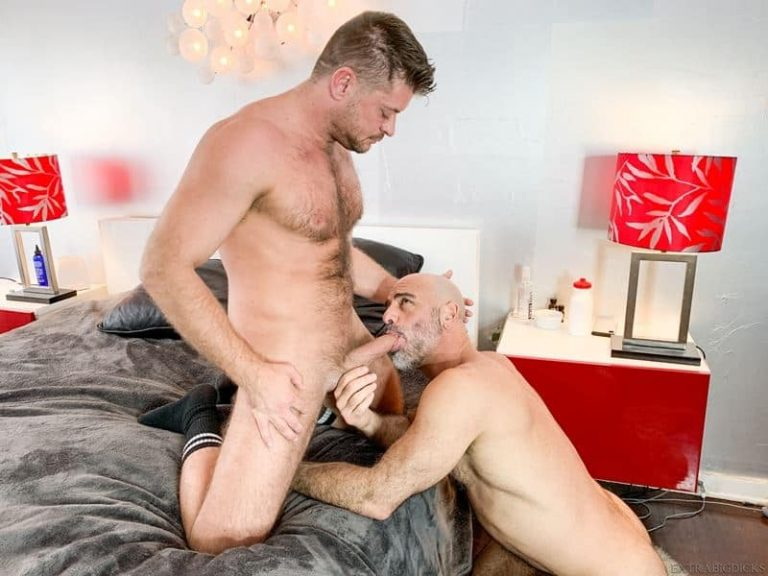 Big dick anal fucking Adam Russo and Jack Andy lockdown hungry hole filler